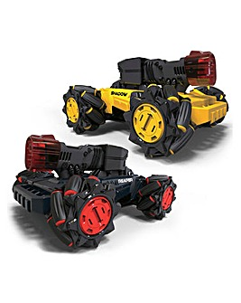 Laser Battle Hunters Remote Controlled 2 Vehicle Pack