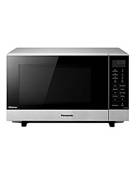 Panasonic 900W Steel Flatbed Microwave