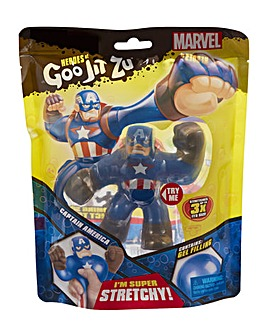 Heroes Of Goo Jit Zu Marvel Captain America