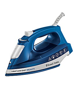 Russell Hobbs 24830 2400W Light and Easy Bright Sapphire Steam Iron