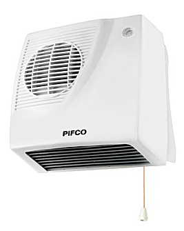 Pifco 2000W Downflow Fan Heater