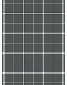 Check Grey Rug