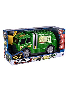 Teamsterz Lights and Sounds Recycling Truck