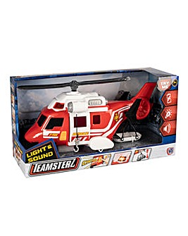 Teamsterz Lights and Sounds Rescue Helicopter