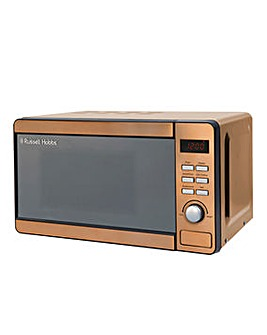 Russell Hobbs RHMD804CP 17L Digital Microwave - Copper