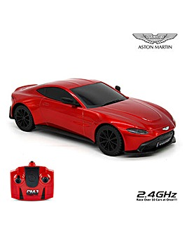 1:24 Aston Martin Red Vantage Remote Control Car