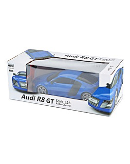 1:18 RC Audi R8 GT - Blue 2.4Ghz