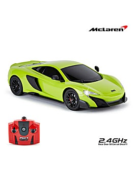 1:18 McLaren G75LT Remote Control Car - Green 2.4Ghz