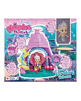 Bloopies Shellies Volcano Playset