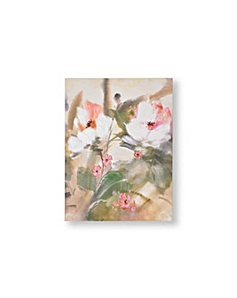 TROPICAL BLOOMS CANVAS