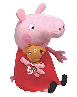 TY Peppa Pig 15 Inch Plush
