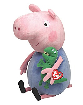 TY George Pig 15 Inch Plush