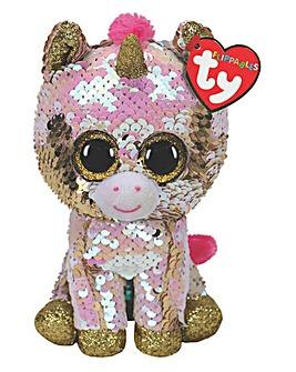 TY Fantasia Unicorn Flippable Plush