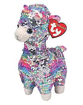 TY Lola Llama Flippable Plush