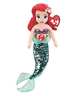 TY Beanie Buddies Disney Princess Ariel with Sound