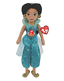 TY Beanie Buddies Disney Princess Jasmine with Sound