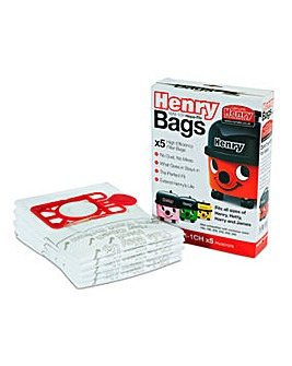 Numatic Pack of 5 Hepa Dustbags