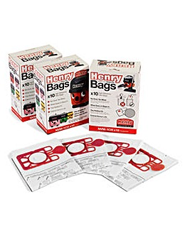 Numatic Pack of 10 Hepa Dustbags