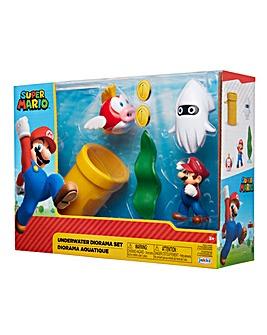 Nintendo 2.5 inch Underwater Diorama