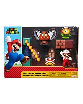 Nintendo 2.5 Inch Lava Castle Diorama