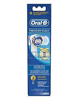 Oral B 2 Precision Clean Brush Heads