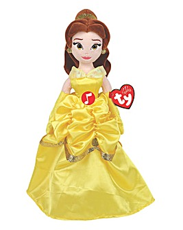 TY Beanie Buddies Disney Princess Belle with Sound