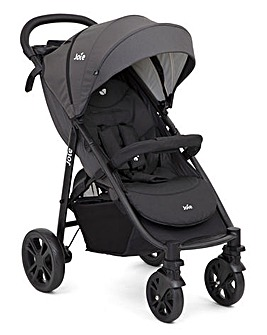 Joie LiteTrax 4 Wheel Pushchair - Coal