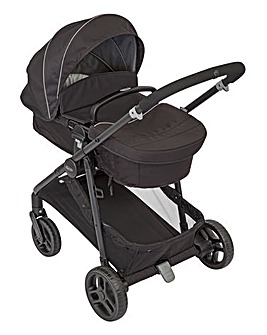 Graco Transform 2in1 Pramette/Pushchair - Black
