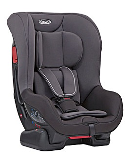 Graco Extend Group 0+/1 Car Seat - Black/Grey