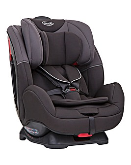 Graco Enhance 0+/1/2 Car Seat - Black/Grey