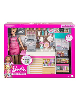 Barbie Coffee Shop and Doll