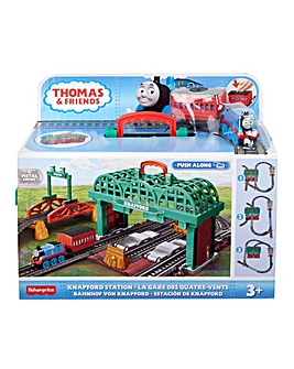 Thomas and Friends Knapford Station Push Along Set