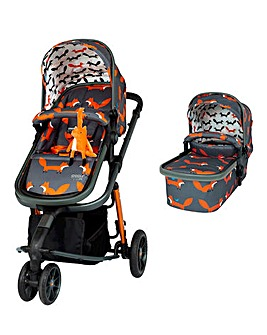 Cosatto Giggle 3 Pram & Pushchair - Charcoal Mr Fox