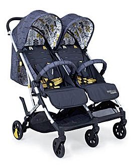 Cosatto Woosh Double Stroller - Fika Forest