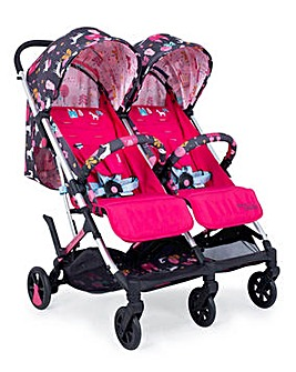 Cosatto Woosh Double Stroller - Unicorn Land
