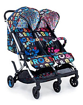 Cosatto Woosh Double Stroller - Sis & Bro
