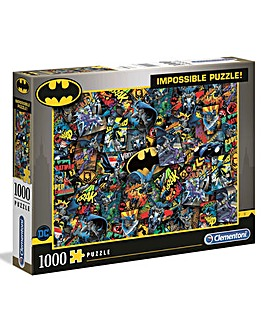Clementoni 1000pcs Impossible Puzzle - Batman