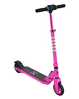 Hover-1 Comet Electric Scooter Pink with LCD Display and LED Headlights