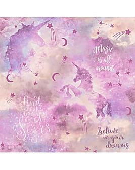 Arthouse Galaxy Unicorn Wallpaper