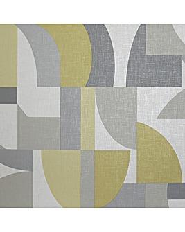 Arthouse Modern Geo Wallpaper