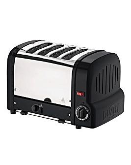 Dualit Origins 4 Slot Black Toaster