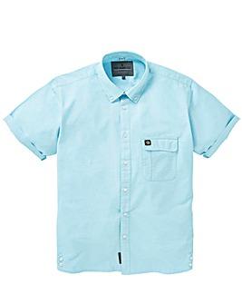 Voi Remy Cotton Oxford Short Sleeve Shirt Regular