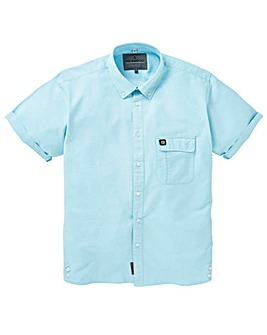 Voi Remy Cotton Oxford Short Sleeve Shirt Long
