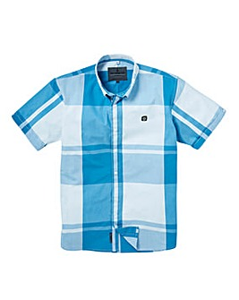 Voi Arena Large Check Short Sleeve Shirt Long