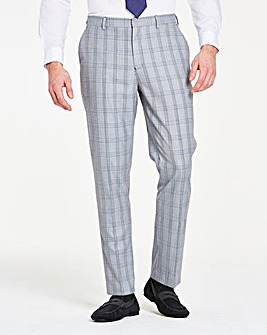 Grey Check James Trousers