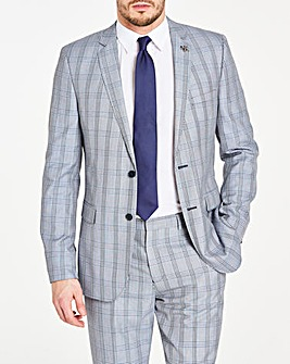 Grey Check James Suit Jacket