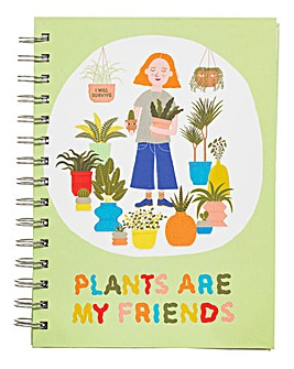 Sass and Belle Plants Slogan Notebook