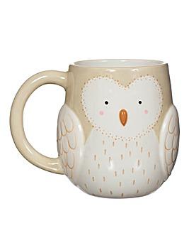 Sass and Belle Owl Mug