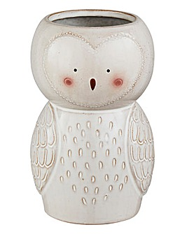 Sass and Belle Owl Vase
