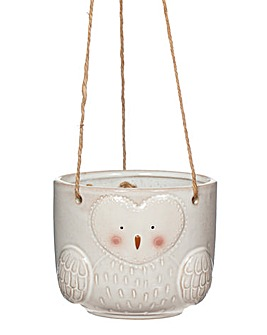 Sass and Belle Owl Planter